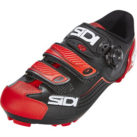 Sidi Trace Schoenen Heren, black/red
